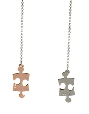 Image 4 ofTed Baker Jigsaw Pendant Necklace