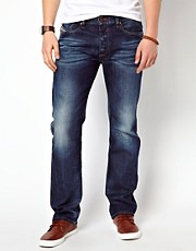 Diesel Jeans Waykee 806U Straight Mid Wash