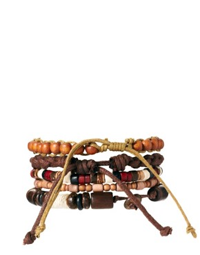 Image 1 ofRiver Island Beaded Bracelet