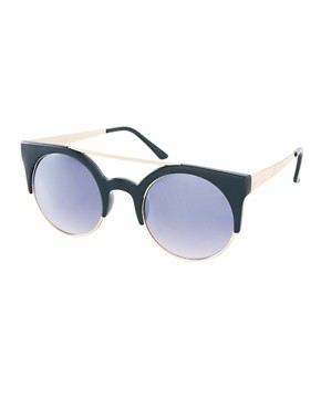 Image 1 ofAJ Morgan Tipped Round Sunglasses