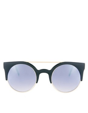 Image 2 ofAJ Morgan Tipped Round Sunglasses