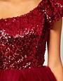Image 3 ofASOS Prom Dress with Sequin One Shoulder