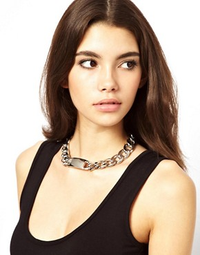 Image 3 of ASOS Jumbo ID Necklace