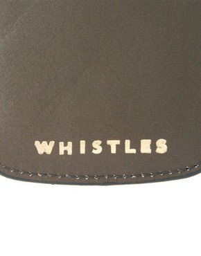 Image 3 of Whistles Phone Leather Holder
