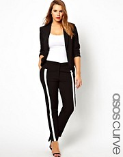 ASOS CURVE Pants in Monochrome
