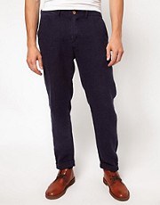Levi&#39;s Made & Crafted - Chino stretti in fondo