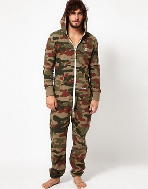 Image 1 ofOnePiece Camo Onesie