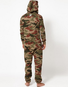 Image 2 ofOnePiece Camo Onesie