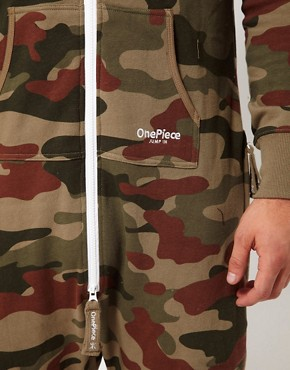 Image 3 ofOnePiece Camo Onesie