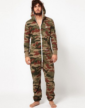 Image 4 ofOnePiece Camo Onesie