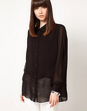 Cheap Monday Layered Front Shirt