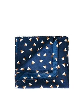 Image 1 ofASOS Geo Pocket Square