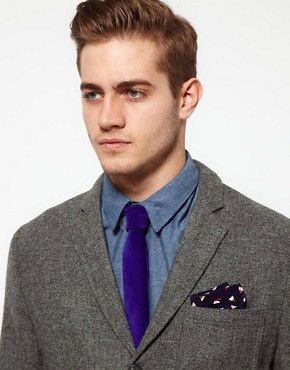 Image 3 ofASOS Geo Pocket Square