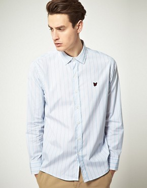 Image 1 ofLyle &amp; Scott Heritage Multi Stripe Shirt