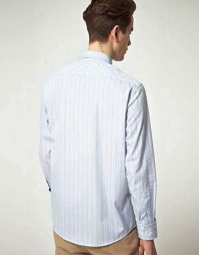 Image 2 ofLyle &amp; Scott Heritage Multi Stripe Shirt