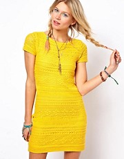 ASOS Premium Crochet Shift Dress
