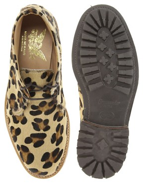 Image 3 ofMark McNairy Leopard Print Desert Boots