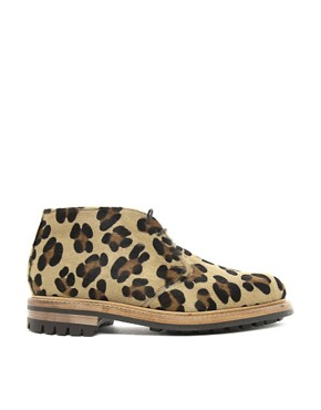 Image 4 ofMark McNairy Leopard Print Desert Boots