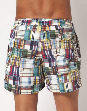 Image 2 ofHartford Patchwork Swim Shorts