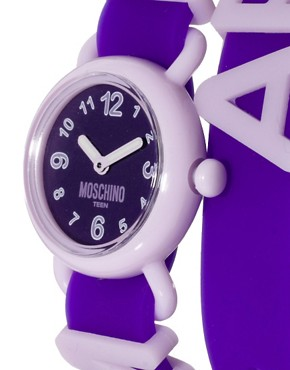 Image 4 ofMoschino Cheap &amp; Chic Fashion Alphabet Watch