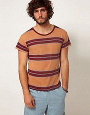 RVCA T-Shirt Alex Knost Wide Multi Stripe