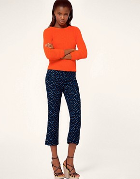 Image 1 ofMSGM Polka Dot Print Trouser