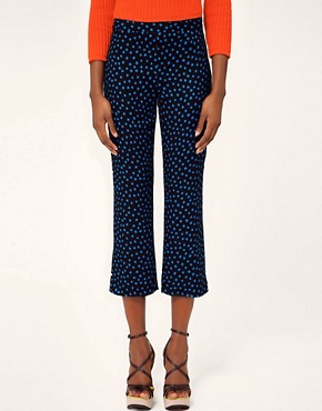 Image 4 ofMSGM Polka Dot Print Trouser