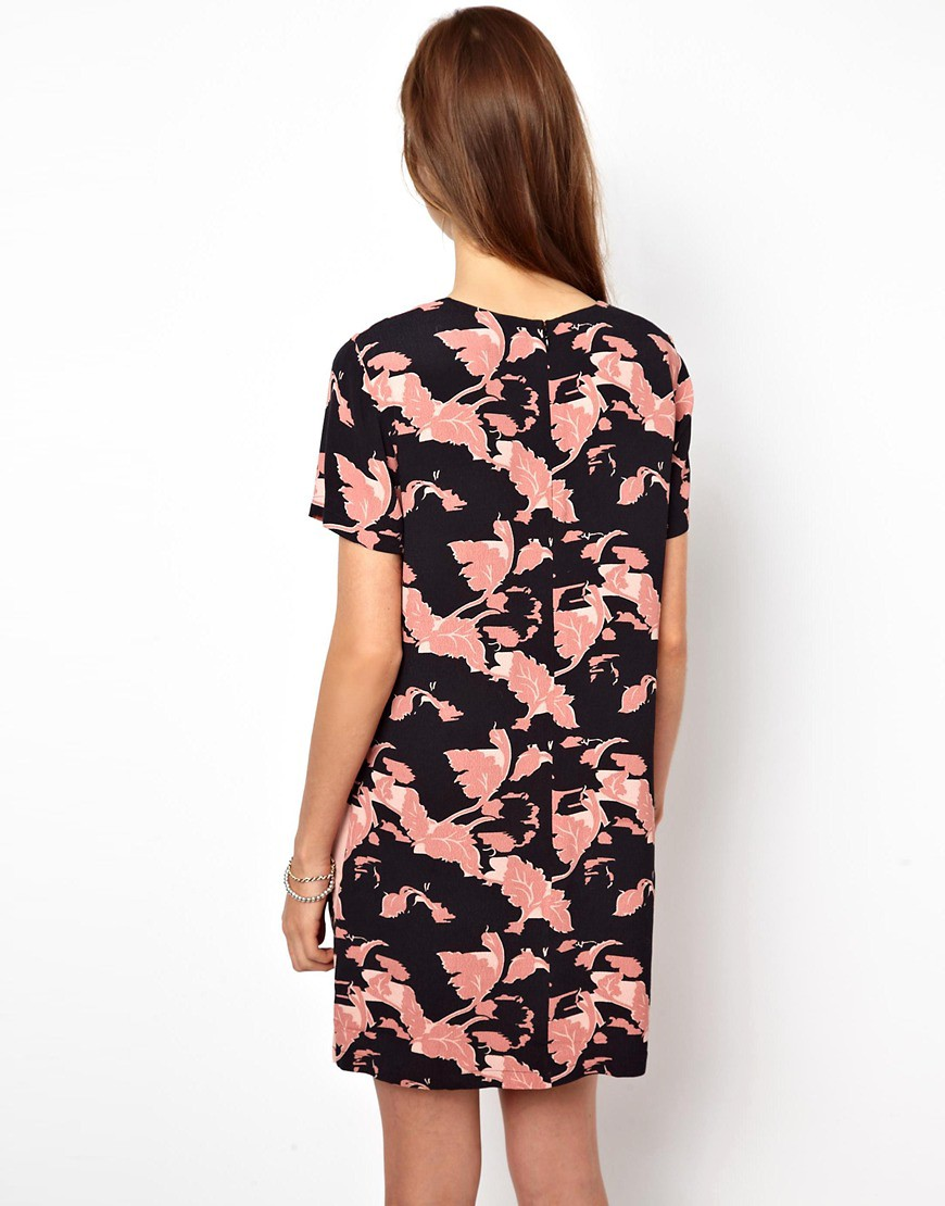 Image 2 of French Connection Vine Bloom Panelled Shift Dress