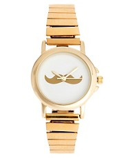 ASOS Moustache Face Expander Watch