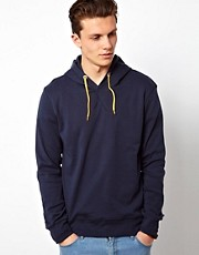 Solid Hooded Sweat