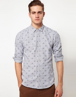 Image 1 ofJack&amp; Jones Pipe Shirt