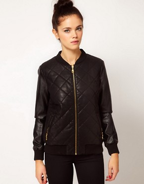 Image 1 ofRiver Island Snake Bomber