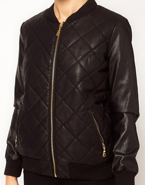 Image 3 ofRiver Island Snake Bomber