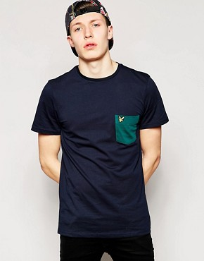 Lyle & Scott Vintage T-Shirt with Contrast Pocket