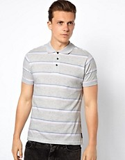French Connection Bold Stripe Polo Shirt