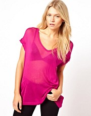 ASOS T-Shirt in Sheer Slouch