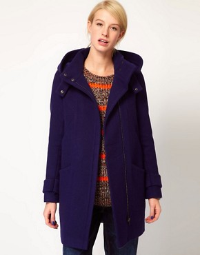 Image 1 ofASOS Oversized Hooded Funnel Parka