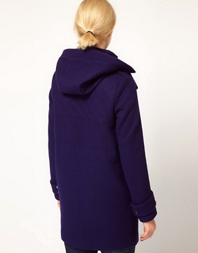 Image 2 ofASOS Oversized Hooded Funnel Parka
