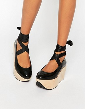 Vivienne Westwood for Melissa Rocking Horse Mega Flatform Shoes