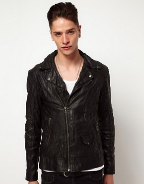 Image 1 ofReligion Leather Jacket