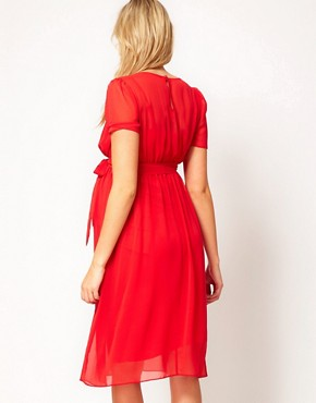Image 2 ofASOS Maternity Midi Dress