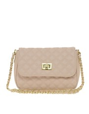 ASOS Nude Quilted Across Body Bag