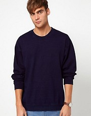 American Apparel Indigo Sweat