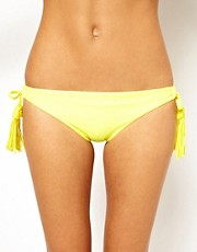 Seafolly Exclusive To Asos Jazz Tie Side Bikini Pant