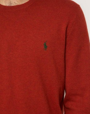 Image 3 ofPolo Ralph Lauren Jumper In Wool Crew Neck