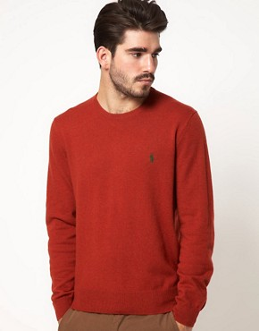 Image 1 ofPolo Ralph Lauren Jumper In Wool Crew Neck