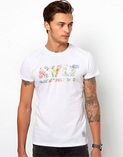 Camiseta con estampado floral de Revolution