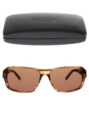 Image 2 ofCalvin Klein Sporty Style Sunglasses