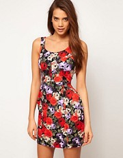 ASOS Tulip Dress in Floral Print