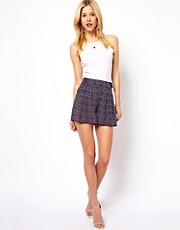 ASOS Culotte Shorts in Tile Print